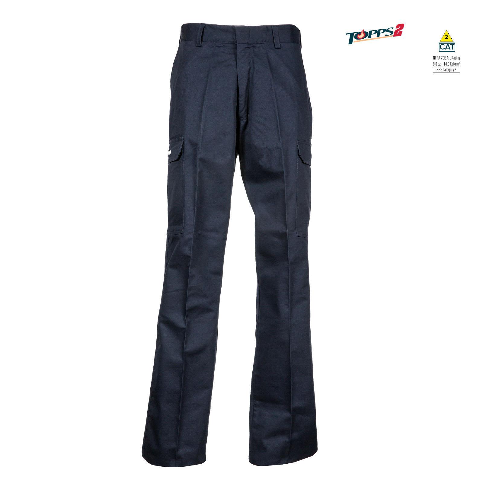 88/12 Cotton/Nylon Blend Flame Resistant Cargo Pant-TOPPS