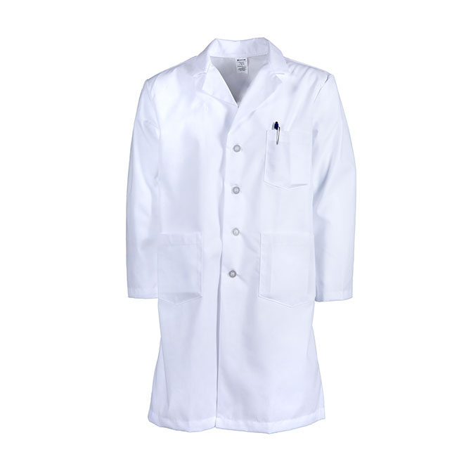Men's Button Lab Coat-PINNACLE HEALTH