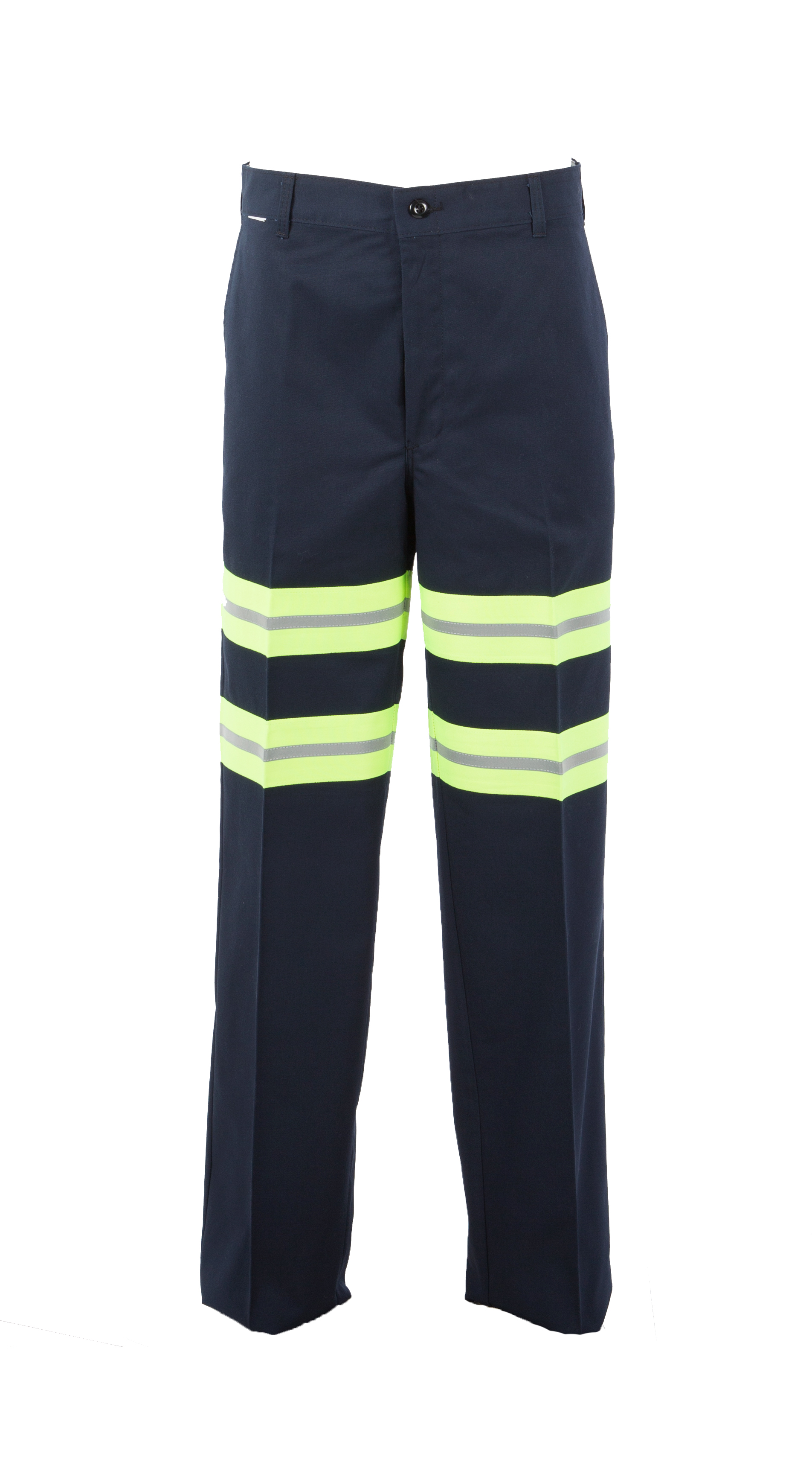 Enhanced Visibility Men's Comfort Fit 65/35 Industrial Work Pant-Pinnacle WorX