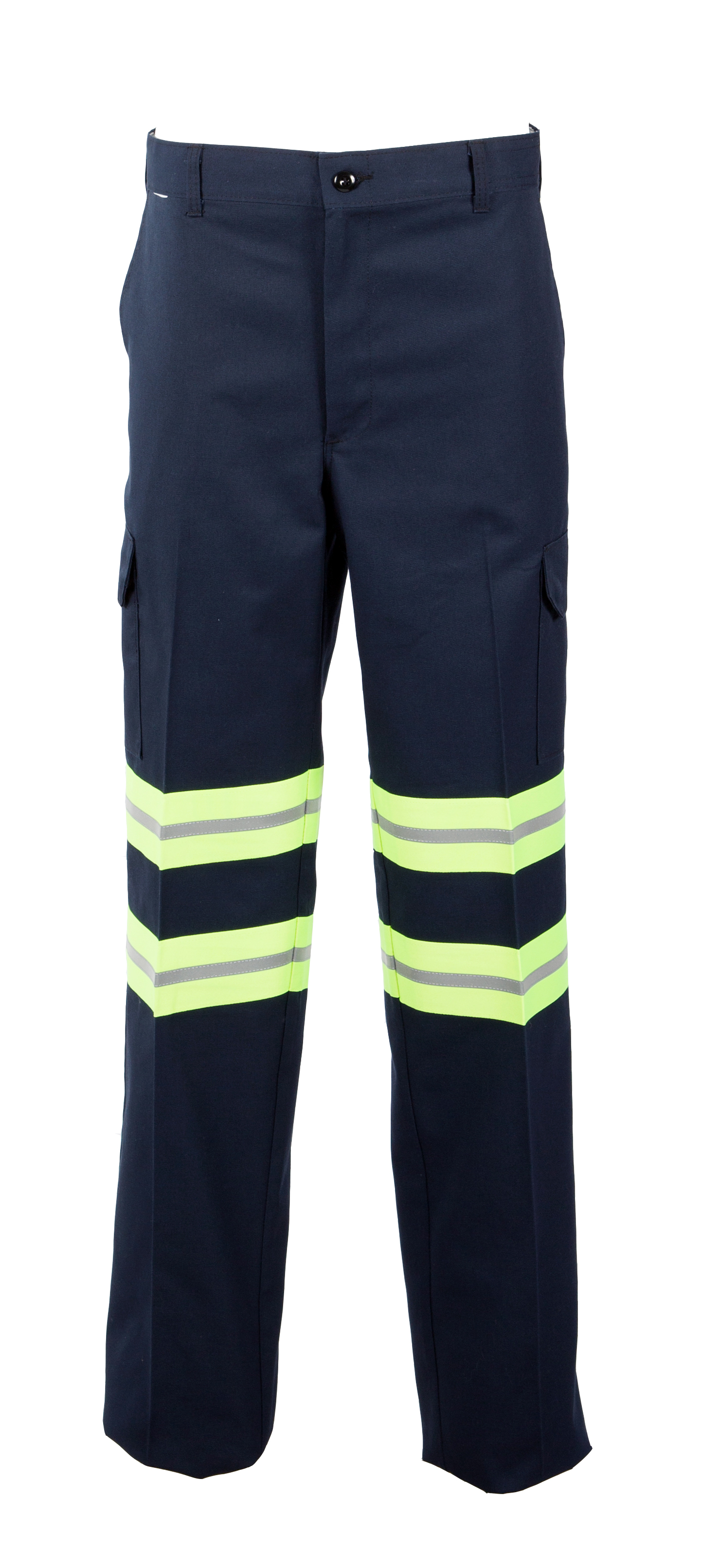 65/35 Enhanced Visibility Men's Comfort Fit Industrial Work Cargo Pant-Pinnacle WorX