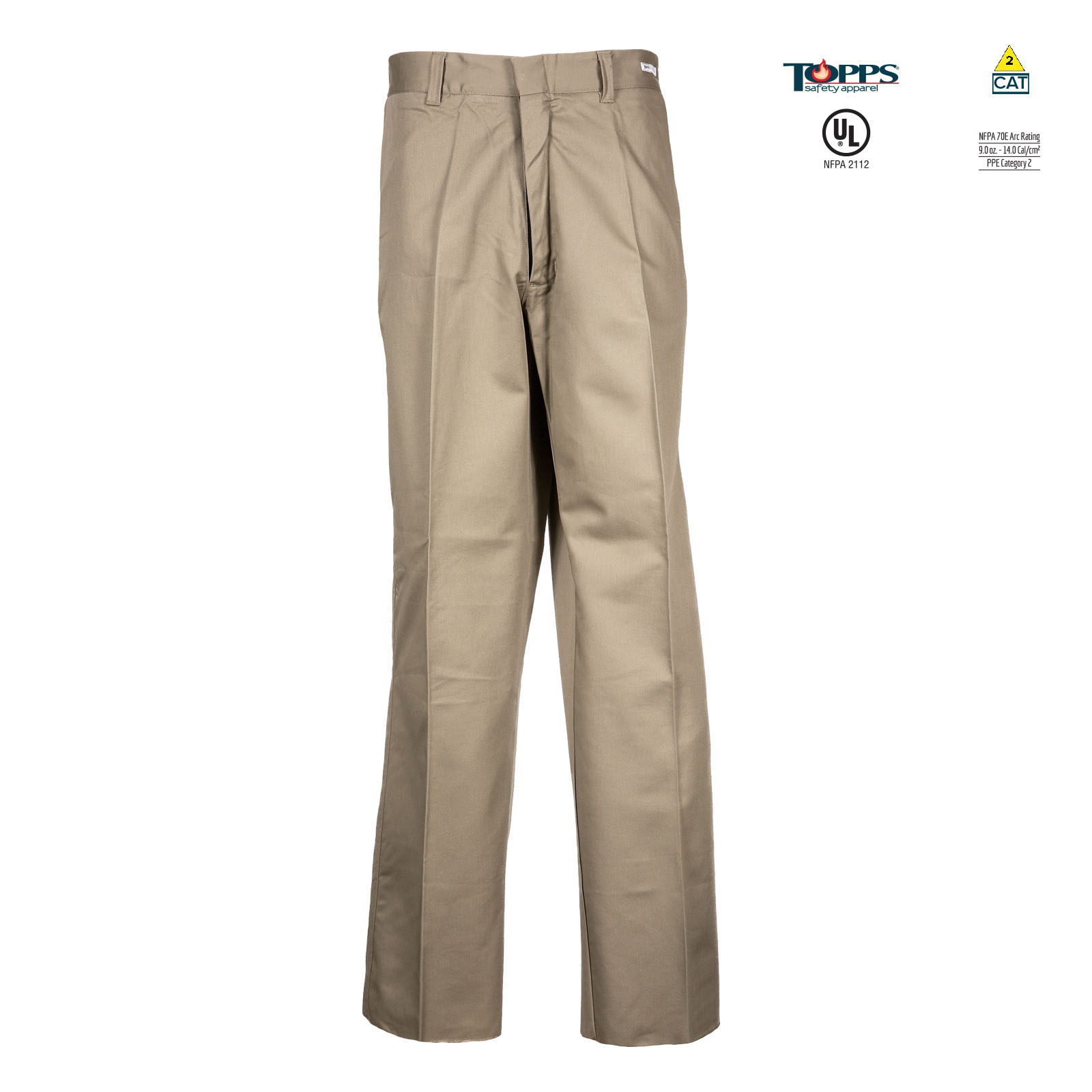 Flame Resistant Pants PEAK FR 88/12 Cotton/Nylon Blend Women's Flame Resistant Standard Uniform Pant-