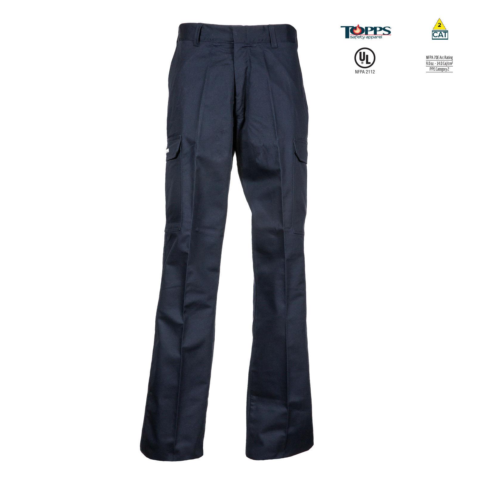 PEAK FR 88/12 Cotton/Nylon Blend Flame Resistant Cargo Pant-TOPPS
