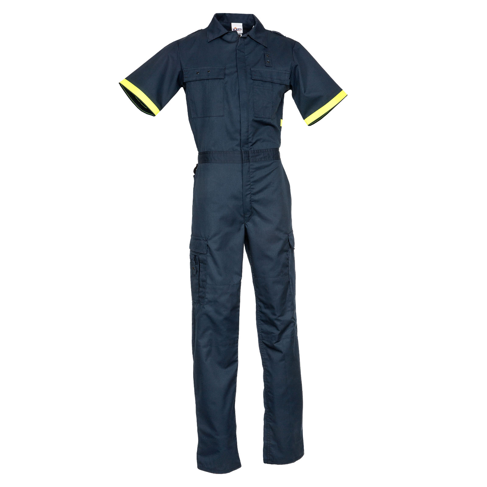 Public Safety One-Piece Suits 65/35 Short Sleeve Metro Style One-Piece Uniform Suit-TOPPS