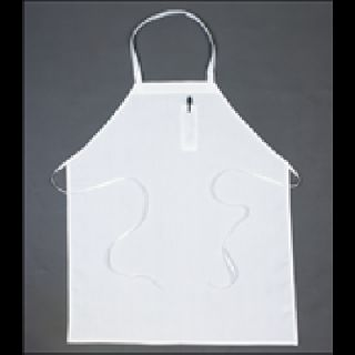 Pencil Pocket Bib Aprons w/ tubular braid ties