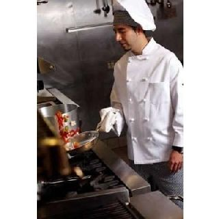 100% Cotton Twill Chef Coat
