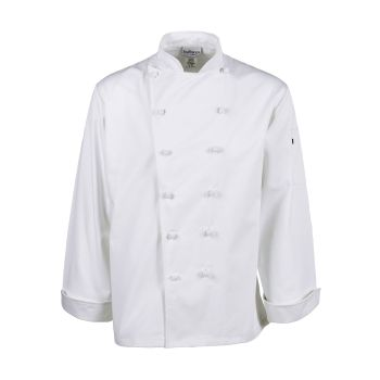 Knot Button Executive Cotton Chef Coat-