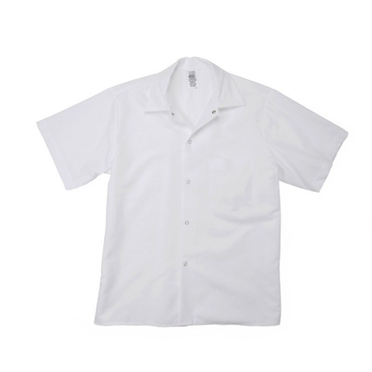 Poplin White Cook Shirts w/ Chest Pocket-