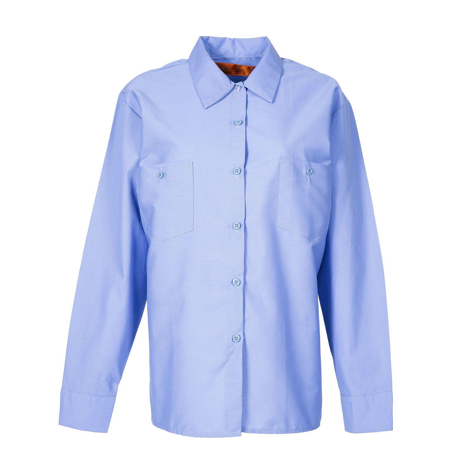 65/35 Women's Industrial Long Sleeve Work Shirt-
