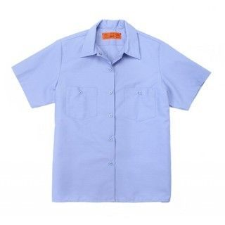 Women's 65/35 Industrial Work Shirt - Half Sleeve