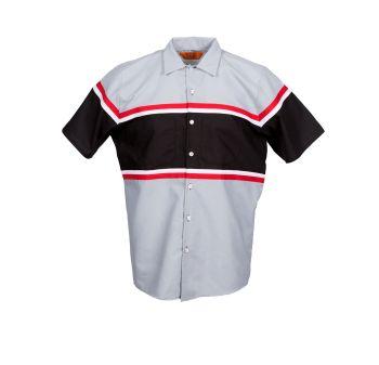 65/35 Technician Multi-Stripe Industrial Work Shirt-