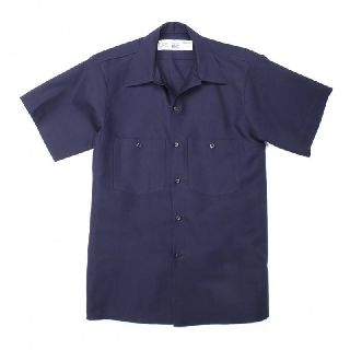S42 Male 100% Cotton Industrial Work Shirts