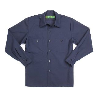 Male Wrinkle Resistant Industrial Work Shirt
