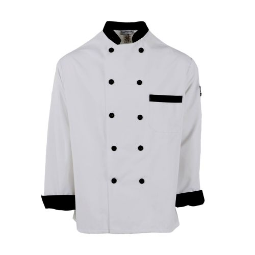 Black Trim Chef Coat-PINNACLE HD
