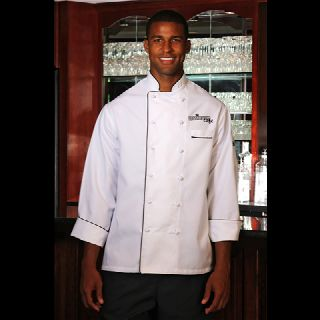 Master Chef Coats w/ Contrasting Piping
