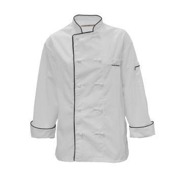 100% MVS Spun Polyester Master Chef Coat-PINNACLE HD