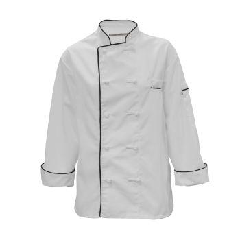 100% MVS Spun Polyester Master Chef Coat-