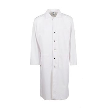 """Butcher Frock- Blend, 45"""" Long, Dome Snap-"""