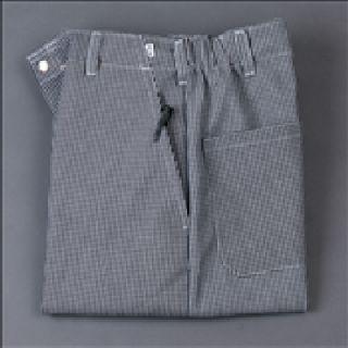 100% MJS Spun Polyester Flex-Waist Cook Pants