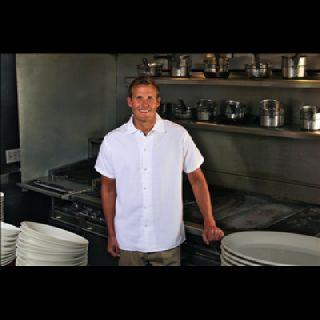 S315 Poplin Cook Shirts w/ Chest Pocket