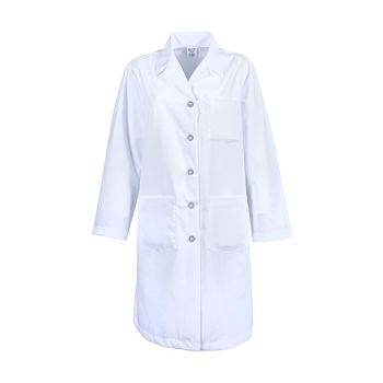 Women's Button Lab Coat-PINNACLE HEALTH