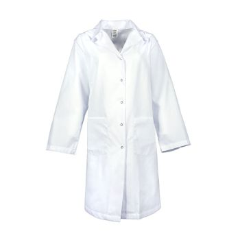 Women's Gripper Snap Lab Coat-PINNACLE HEALTH