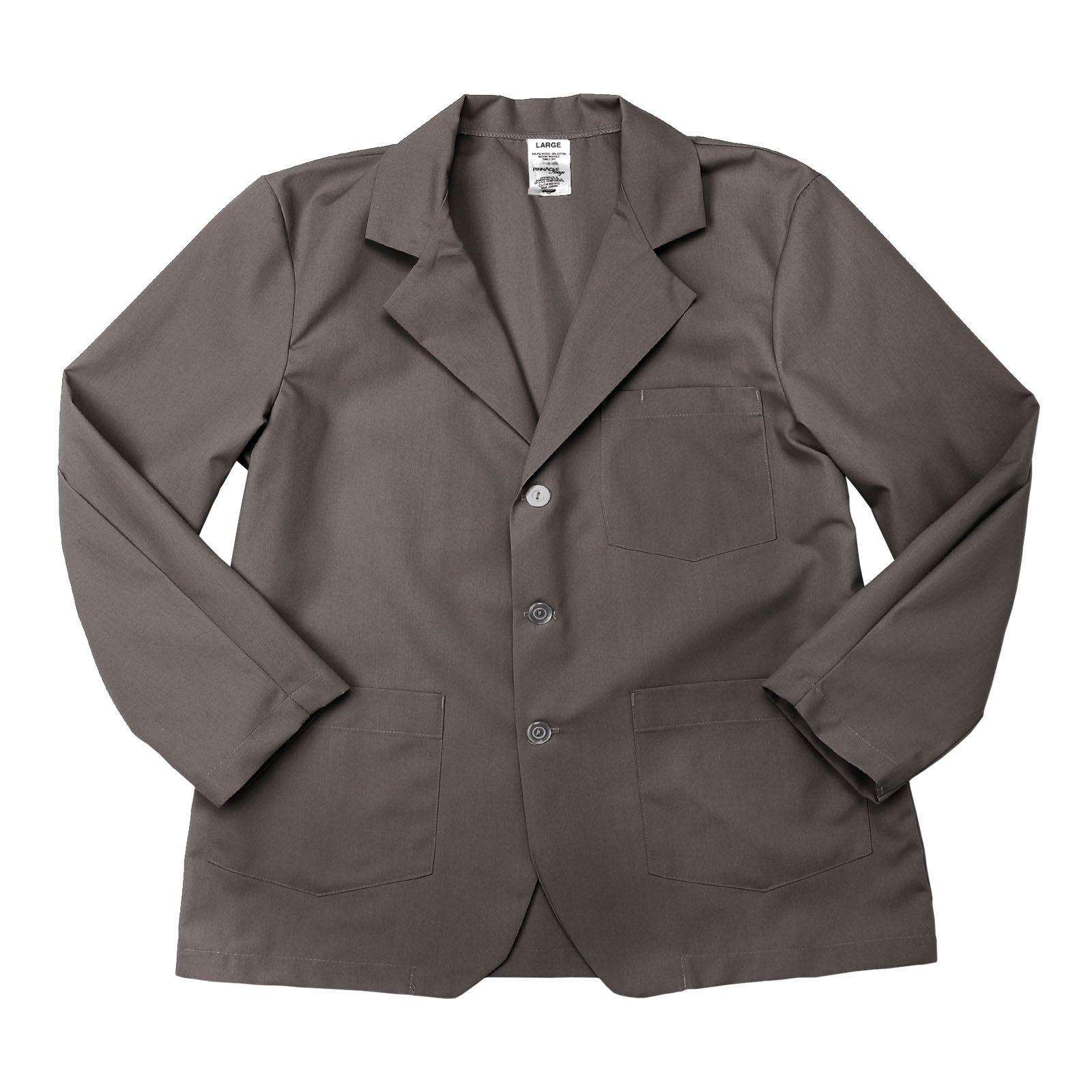 65/35 Poly/Cotton Poplin Lapel/Counter Coat-PINNACLE IMAGE