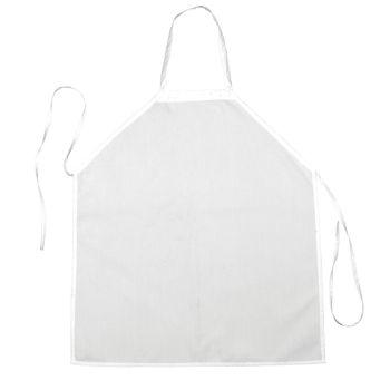 Bib Apron-no pocket, 27.5x31.5, self ties-
