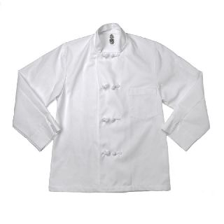 Knot Button Chef Coats - Full Sleeve