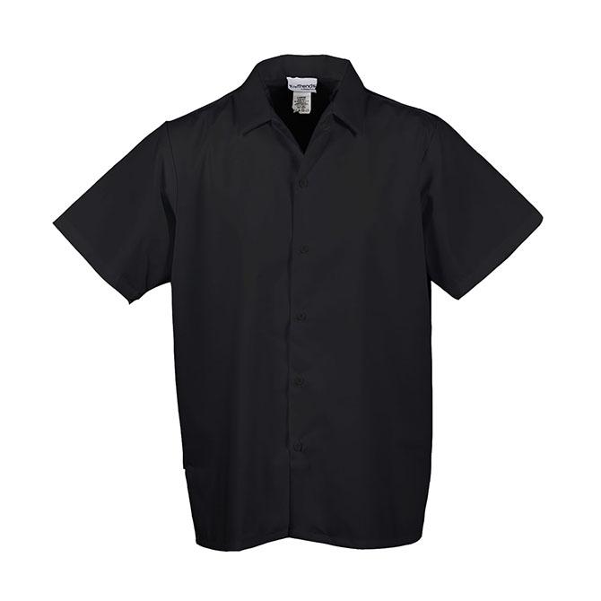 Keep Kool V-Panel Mesh Back Cook Shirt-