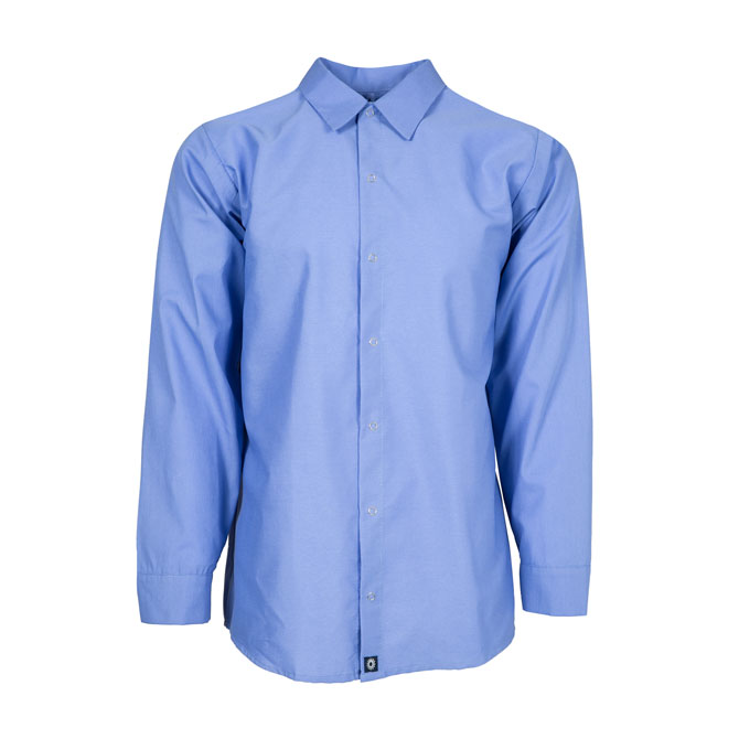 Industrial Mens Shirt, gripper front-Pinnacle WorX
