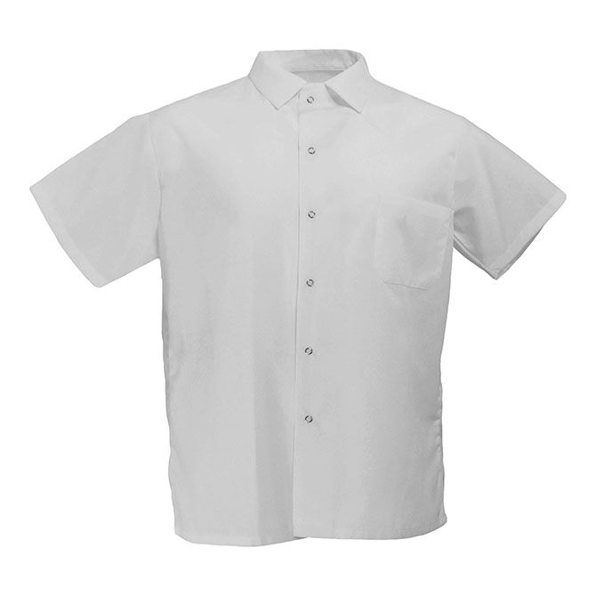 Keep Kool 1/2 Mesh Back Cook Shirt-