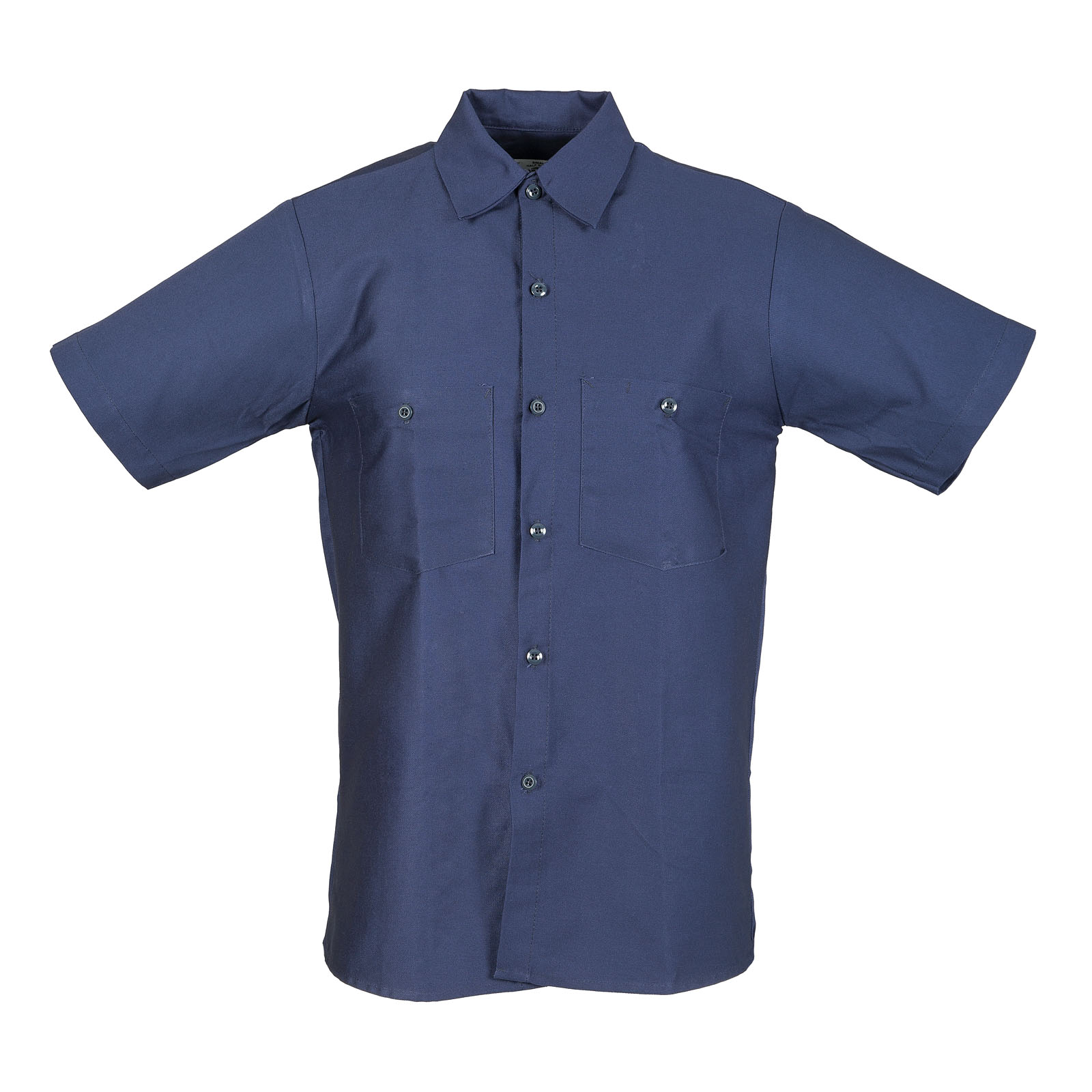 100% Cotton Men's Industrial Short Sleeve Work Shirt-Pinnacle WorX