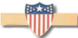 American Shield Tie Bar-
