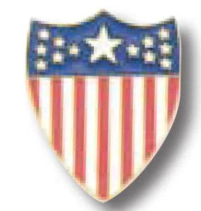 American Shield Tie Tac-Premier Emblem