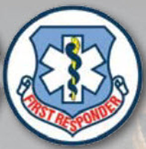 Decal First Responder-