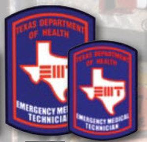 Decal EMT Texas-Premier Emblem
