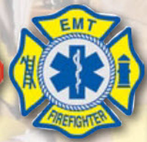 Decal EMT/Firefighter-