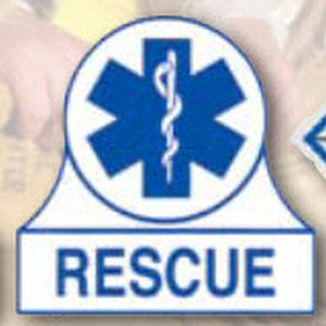 Decal Staff Of Life Rescue-