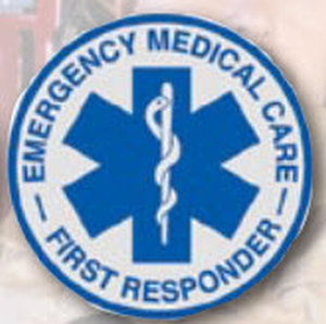 Decal EMC First Responder-