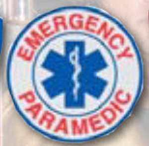 Decal Emergency Paramedic-Premier Emblem
