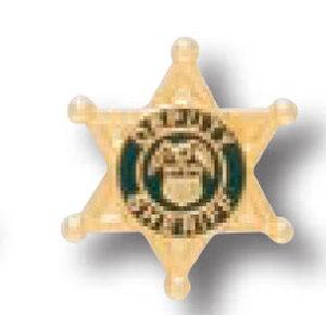 Deputy SHERIFF 6PT Star Tie Tac-Premier Emblem