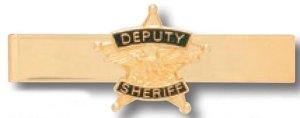 Deputy Sheriff Tie Bar-Premier Emblem