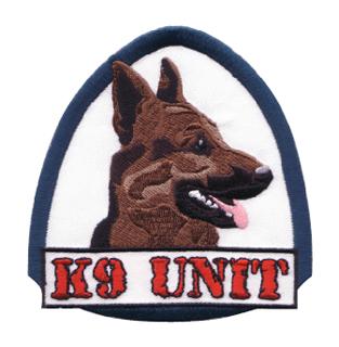 Police K-9 EMB - German Sheperd-