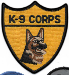 K-9 Corps Department-Premier Emblem