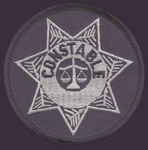 """3"""" Constable Circle-Premier Emblem"""
