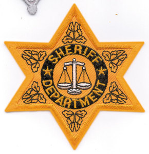 Sheriff Department Star-