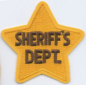 Sheriff's Dept Star-