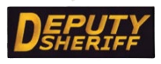 "3"" X 9"" Deputy Sheriff-Premier Emblem"