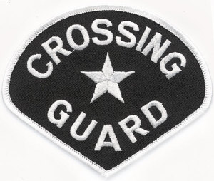 School Crossing Guard Patch-Premier Emblem