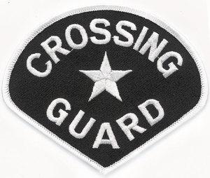 School Crossing Guard Patch-Premier Emblem